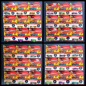 Lot of 36 Hot Wheels 90s California Custom Miniature Replica Vintage Series 1&2