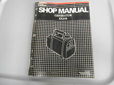 Honda Power Equipment Factory Shop Manual Generator EX350 61ZC300