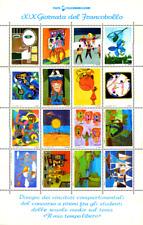 ERINNOFILIA ITALIA 1977 FOGLIETTO XIX GIORNATA DEL FRANCOBOLLO