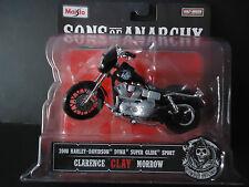 Maisto Harley Davidson Dyna Super Glide Sport 2008 Clay Sons of Anarchy 1/18 New