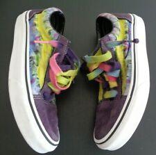 VANS Skate SK8 Tie Dye Suede Cotton Multicolor Shoes Women's Size 7 Multicolor