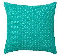LOGAN & MASON BALMAIN TURQUIOSE Trellis Square Filled Cushion 41 x 41cm  NEW