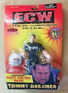 ECW Tommy Dreamer Action Figure 1999 NEW