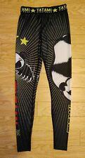 Tatami Meerkatsu Panda Spat Leggings Size Small MMA BJJ UFC