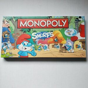 Monopoly The Smurfs Collector's Edition - Brand New & Factory Sealed