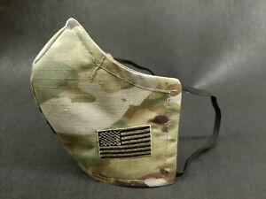 US ARMY OCP SCORPION FACE MASK SUBDUED US FLAG QUALITY!!!