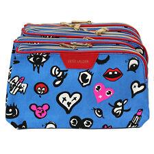 New! Wholesale Lot of 8 x Estee Lauder Blue Makeup Cosmetic Bags Case Pouch