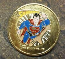 Superman pin badge DC Comics Inc 1981