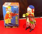 Vintage Tinplate Clockwork Clown Playing Violin, Schuco 986/2, Germany, EXiB