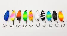 10x Forellenblinker Japan Blinker Trout Spoon Miniblinker B88