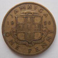 JAMAICA PENNY 1950