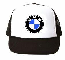 BMW Trucker Hat mesh hat snapback hat black new adjustable hat