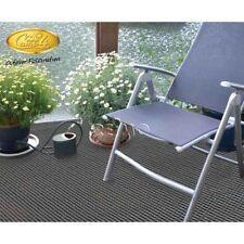 Tapis de sol pour Caravane camping Auvent PVC 5 X2.50m Gris