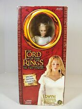 "LORD OF THE RINGS THE TWO TOWERS SPECIAL EDITION 12"" EOWYN DOLL MIB!"