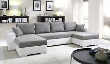 Couchgarnitur Sofa Couch Sofagarnitur U Wohnlandschaft Schlaffunktion 4112200/4