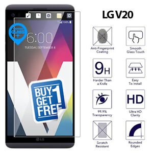 2 x For LG V20 H990 Tempered Glass Screen Protector Film Cover Clear H910 H918
