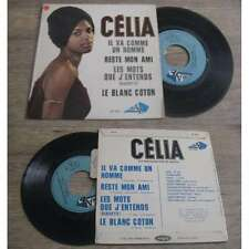 JEF GILSON / CELIA - RARE FRENCH SPIRITUAL JAZZ CHANSONS EP 1966 W/Languette