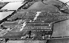 Holderns caravan Site Bracklesham Bay Air Aerial View Nr Chichester RP old pc