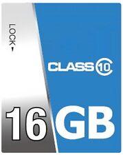 Scheda SD 16 GB Classe 10 16GB SDHC scheda di memoria per Nikon Canon IXUS 115