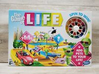 Hasbro The Game of Life Boardgame E4304 Add Pets To Your Life New Sealed