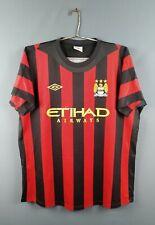 4.9/5 Machester City jersey Xl 2011 2012 away shirt soccer football Umbro ig93
