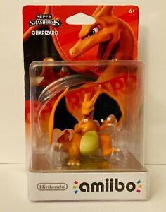 Nintendo Amiibo CHARIZARD Super Smash Bros. Nintendo Wii U 3DS Switch Pokemon