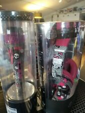 iDance ibiza 104 Skull Headphones w/ Pinky Graffiti Mic bundle