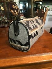 Pendleton Wool High Grade Western Wear Makeup Travel Bag