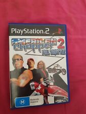American Chopper 2 Full Throttle sony PlayStation 2 ps2 free post complete gc