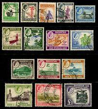RHODESIA - 1959 Set to £1 'BLACK & DEEP VIOLET' VFU SG18-31 Cv £90 [B0950]