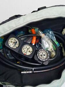 Diving Lot Regulators Gauges By Cousteau Beuchat U.S.  Divers. Very Clean