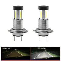 2x H7 LED Car Headlight Bulb Conversion Kit High Low Beam 6000K 110W White