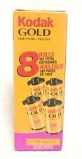 Kodak Gold 35mm Color Print Film 200 4 Rolls New Sealed NIB Expired 11/2008