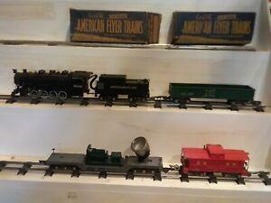 1950 American Flyer set #5004 Nickel Plate Railroad Switcher Set