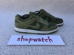💥 VINTAGE Nike Dunk Low Palm Green Travis Scott Shoes 904234-300  Size 10
