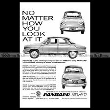 #phpb.000354 Photo PANHARD PL 17 1962 Advert Reprint