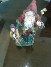 "Duncan Royale~1990 Starman 12"" Figurine~History of Santa Series Iii #388"