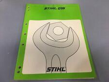 Stihl 015 service manual ,Stihl service manual 015