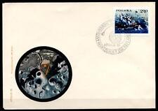 Apollo 15, Mondfahrzeug. FDC. Polen 1971