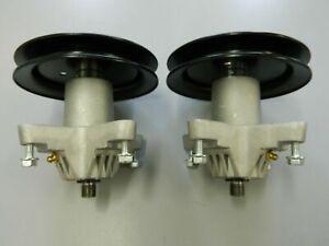 2 X SPINDLE ASSEMBLYS MTD CUB CADET TROY BUILT 918-0624 618-0624 918-0659A