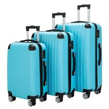 Hardside 3Pcs Luggage Set Travel Bag ABS Trolley Spinner Suitcase Durable US