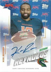 2020 Topps XFL Football Pick Complete Your Set #1-175 AUTO RC **FREE SHIPPING**