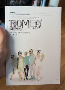 SHINee 2nd Mini Album romeo KEY ver.