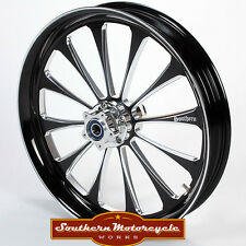 Southern Black Legend Front 18X3.5 Custom Wheel Harley Touring Single W/ ABS