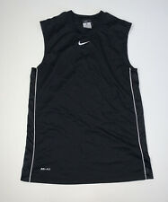 Nike Dri-Fit Tank Top Size Men's M Black Running Training Athletic Work Out