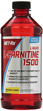MET-Rx Liquid L-Carnitine 1500 Natural Lemon Flavor, 16 Ounce