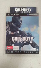 Call of Duty Ghosts Limited Edition with a Steel Case Sony PS3 Brand New