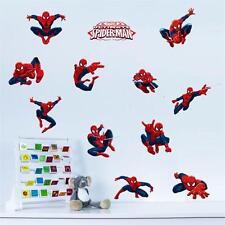 3D Spider man kids room decor Wall sticker bedroom hero decor gift decals