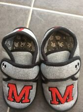 Boys Mickey Mouse Slippers Next Sz 11 Brand New