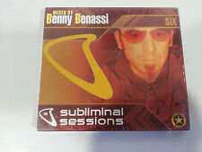 SUBLIMINAL SESSIONS MIXED BY BENNY BENASSI - 2 X CD 2004 NEW SEALED NUEVO